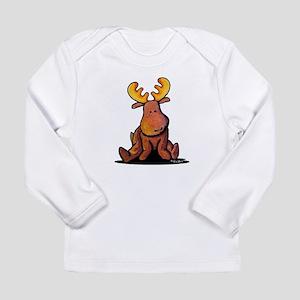 KiniArt Moose Long Sleeve Infant T-Shirt