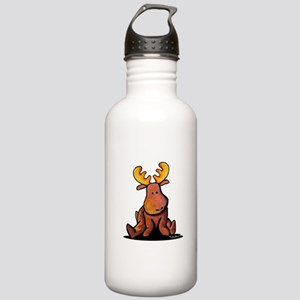 KiniArt Moose Stainless Water Bottle 1.0L