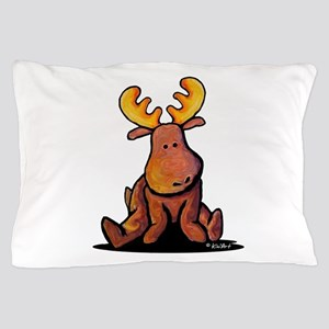KiniArt Moose Pillow Case