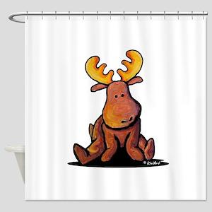KiniArt Moose Shower Curtain