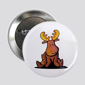 "KiniArt Moose 2.25"" Button"