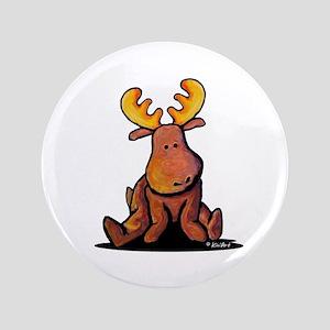"KiniArt Moose 3.5"" Button"