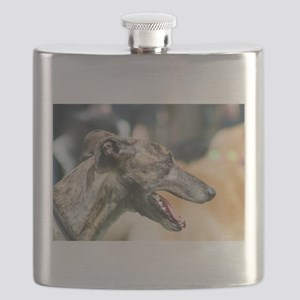 Greyhound Dog Flask