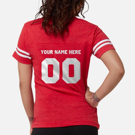Lil Sis Personalized Womens Football Shirt