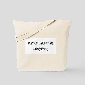 Mayan Calendar Survivor Tote Bag