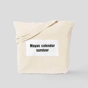 Mayan Calendar Survivor (II) Tote Bag
