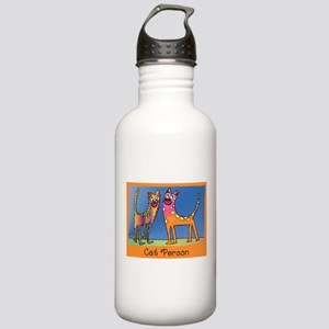 Cat Person Stainless Water Bottle 1.0L
