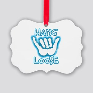 Hang Loose Picture Ornament