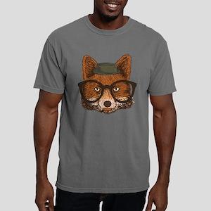 Hipster Fox Mens Comfort Colors Shirt