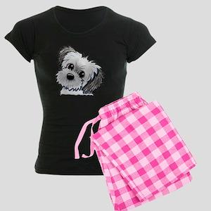 Shih Tzu Sweetie Women's Dark Pajamas