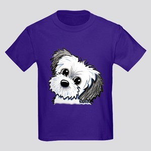 Shih Tzu Sweetie Kids Dark T-Shirt
