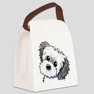 Shih Tzu Sweetie Canvas Lunch Bag