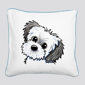 Shih Tzu Sweetie Square Canvas Pillow