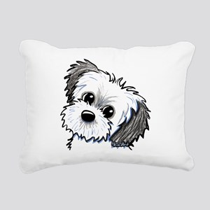 Shih Tzu Sweetie Rectangular Canvas Pillow