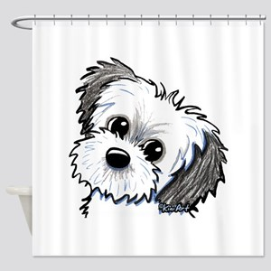 Shih Tzu Sweetie Shower Curtain