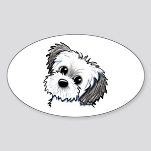 Shih Tzu Sweetie Sticker (Oval)