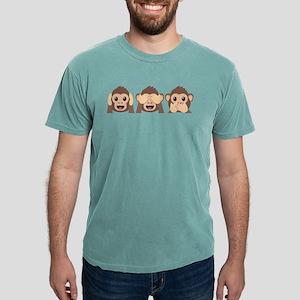 Hear See Speak No Evil M Mens Comfort Colors Shirt