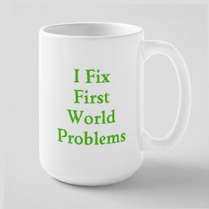 First World Problems Large Mug