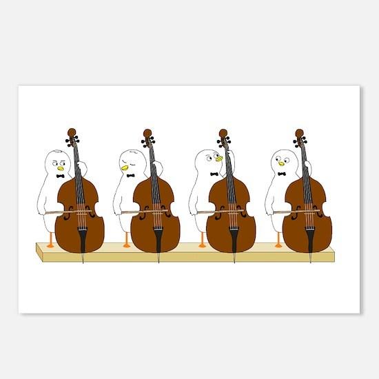 Bass Quartet Postcards (Package of 8)