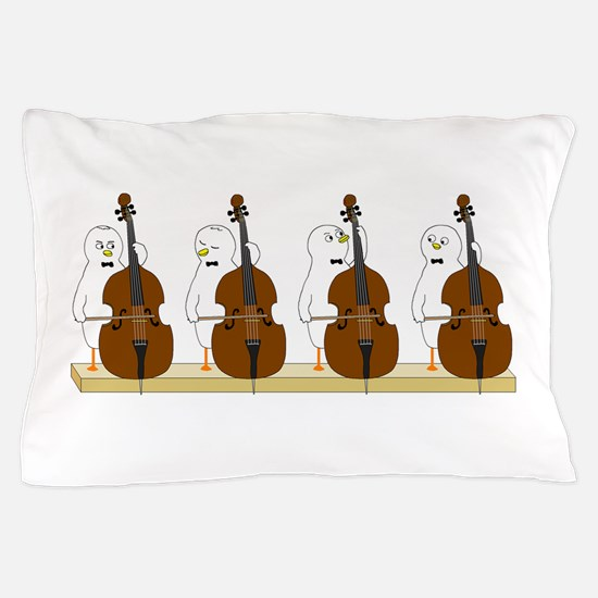 Bass Quartet Pillow Case