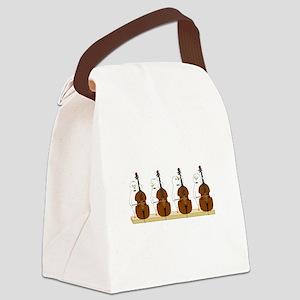 Bass Quartet Canvas Lunch Bag