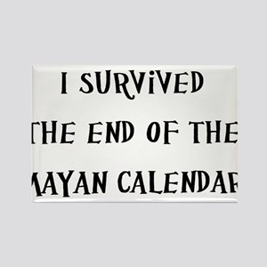 I Survived The End Of The Mayan Calendar Rectangle