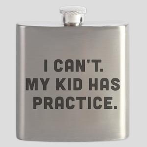 My Kid Has Practice Flask