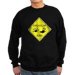 Opossum Crossing Sweatshirt (dark)