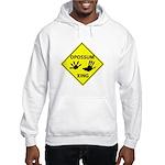 Opossum Crossing Hooded Sweatshirt