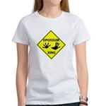 Opossum Crossing Women's T-Shirt