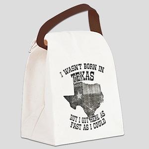 Texas Canvas Lunch Bag
