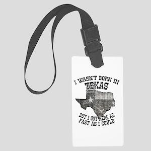 Texas Large Luggage Tag