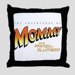 Adventures of Slumber - Throw Pillow