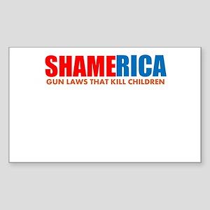 Shamerica! Sticker (Rectangle 50 pk)