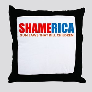 Shamerica! Throw Pillow