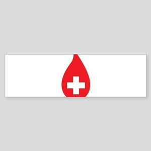 Donate Blood Sticker (Bumper)