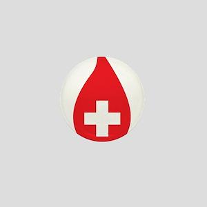 Donate Blood Mini Button