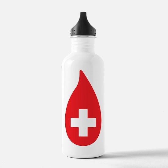 Donate Blood Water Bottle