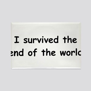I Survived The End Of The World (III) Rectangle Ma