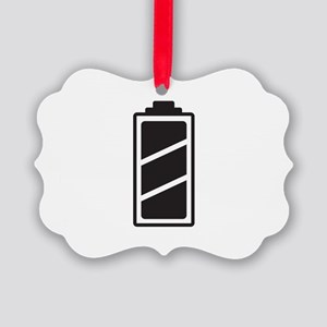 Fully charged Picture Ornament