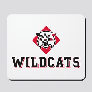 Davidson Wildcats Mascot Head Mousepad