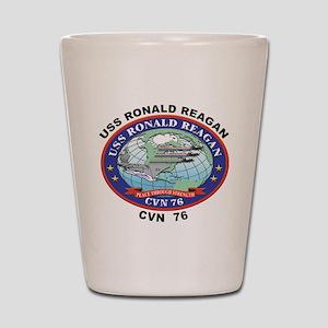 CVN 76 USS Ronald Reagan Shot Glass