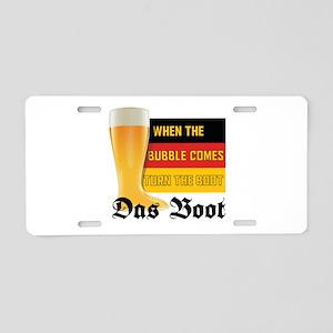 das_boot Aluminum License Plate