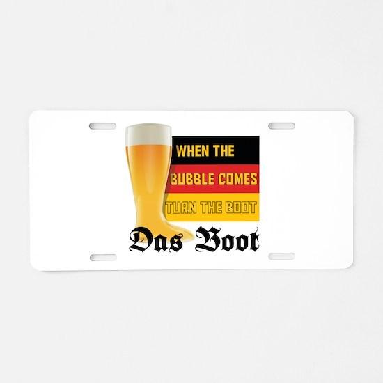 das_boot.tif Aluminum License Plate