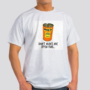 Whoop Ass Ash Grey T-Shirt