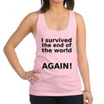 I survived . . . AGAIN! Racerback Tank Top