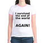 I survived . . . AGAIN! Jr. Ringer T-Shirt