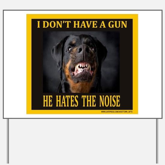 My Dog Yard Sign