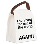 I survived . . . AGAIN! Canvas Lunch Bag