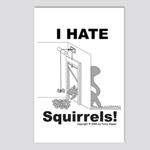 Squirrel Guillotine Postcards (Package of 8)